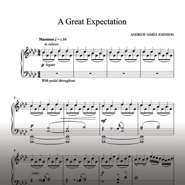 a great expectation notation