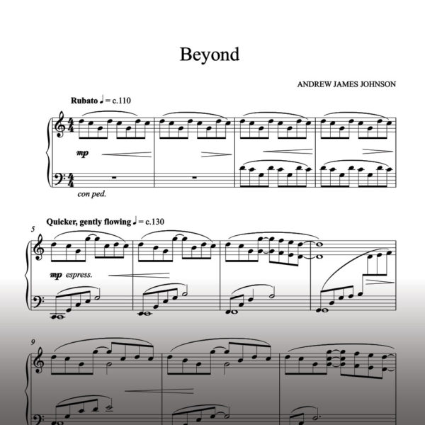 beyond notation