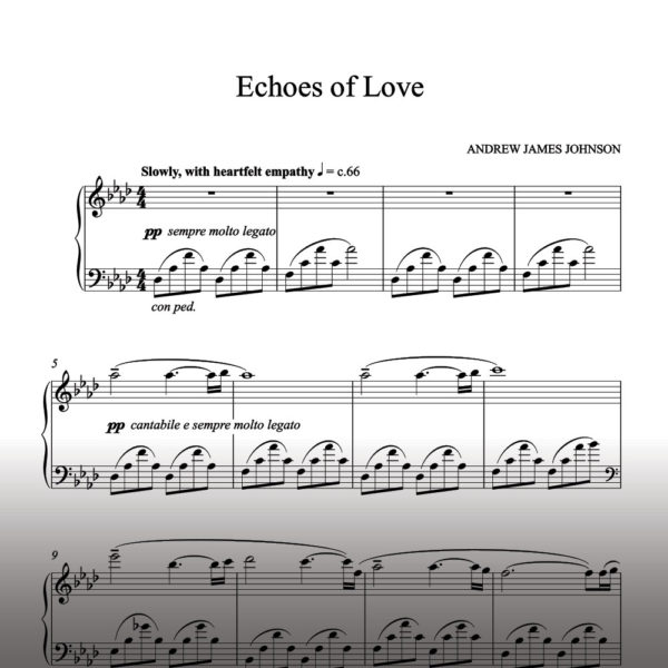 echoes of love notation