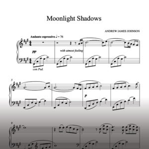 moonlight shadows notation