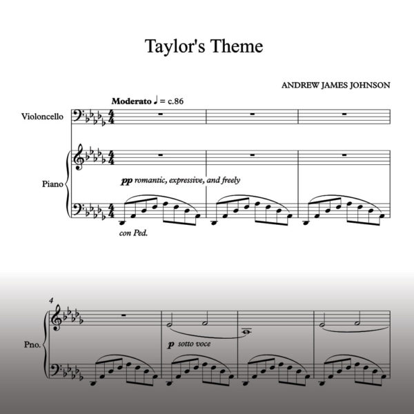 taylors theme notation